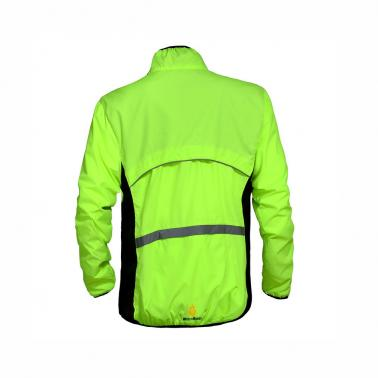WOLFBIKE Cycling Jersey Men Riding Breathable Jacket Cycle Clothing Bike Long Sleeve Wind Coat Green M