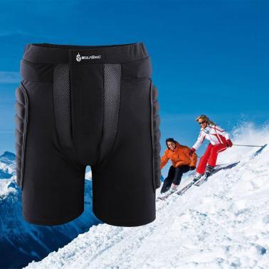 Protective Hip Pad Padded Shorts Skiing Skating Snowboarding Impact Protection M