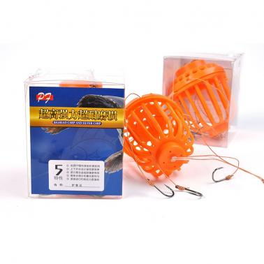 Silver Carp Fishing Sea Monster with Lead Sinker Carbon Steel Strong Explosion Hooks Fishing Tackle Set