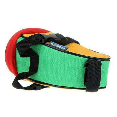 ROSWHEEL Bicycle Tail Bag/ Saddle Bag Bike Pouch Cycling Seat Bag Multicolor