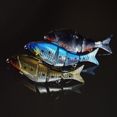 "12.5cm / 5"" 21g Bionic Multi Jointed Fishing Lure Lifelike Hard Bait Swimbait"