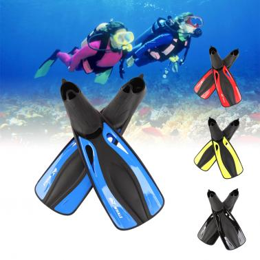 Whale Adult Flexible Comfort Swimming Fins Submersible Long Swimming Snorkeling Foot Profession Diving Fins Flippers Wat