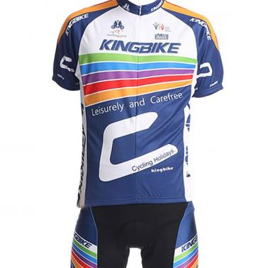 Men Outdoor Breathable Short Sleeve Cycling Jersey Pants