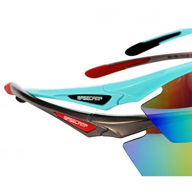 BaseCamp Cycling Outdoor Sports Polarized Sun Glasses Bicycle Bike Riding Glasses Lightweight TR90 Frame Goggles Eyewear
