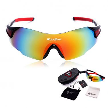 Men Women Outdoor Windproof Motorcycle Cycling Glasses UV Protection
