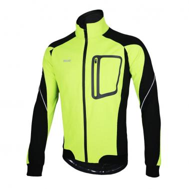 ARSUXEO Winter Warm Thermal Cycling Long Sleeve Jacket Bicycle Clothing Windproof Jersey MTB Mountain Bike Jacket