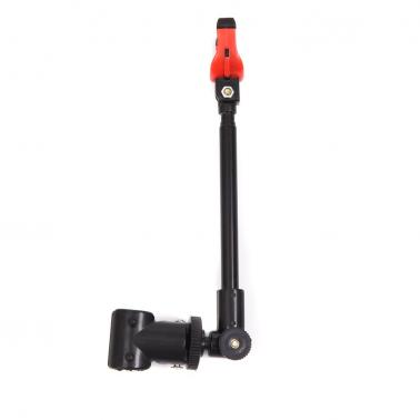 Rotating Fishing Bracket Holder Back Stand Telescopic Angler Gadget