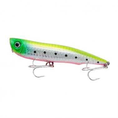 1pcs Shallow Water Fishing Tackle Fishing Lure Popper Hard Bait 105mm / 17g