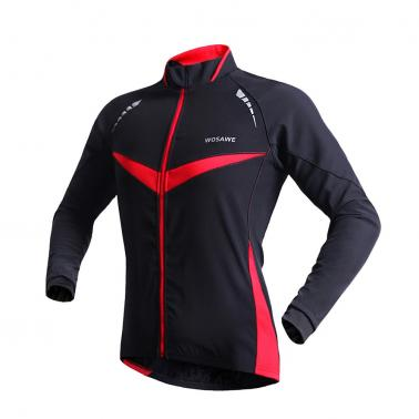 WOSAWE Winter Warm Jacket Running Fitness Exercise Cycling Bike Bicycle Outdoor Sports Clothing Jacket Long Sleeve Jerse