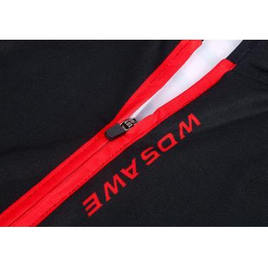 WOSAWE Winter Outdoor Sports  Warm Fleece  Long  Cycling Sleeve Jacket