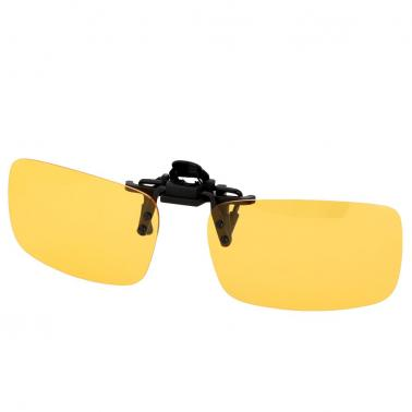 Polarized Clip On Sunglasses Anti-UV Uniex Lens