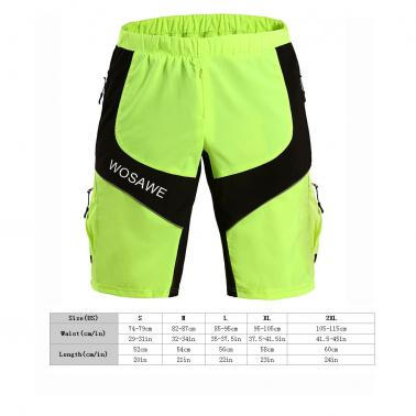Men Outdoor Breathable Running Climbing Cycling Pants Leisure Shorts