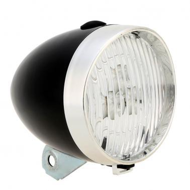 3 LED Bike Vintage Front Light Bicycle Headlamp Old-fashioned Style