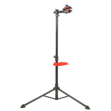 "36"" to 67"" Telescopic Bike Repair Stand Adjustable Height Bicycle Stand Rack Workstand with Tool Tray"