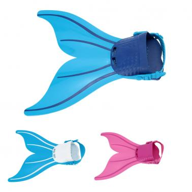 Kid Children Mermaid Swim Fin Diving Monofin Swimming Foot Flipper