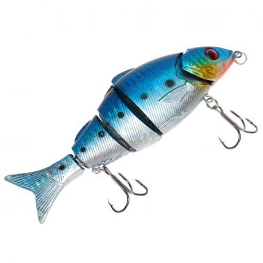 12.5cm 20g Life Like Hard Bait Multi Jointed Segmented Section Fishing Lure with Treble Hooks
