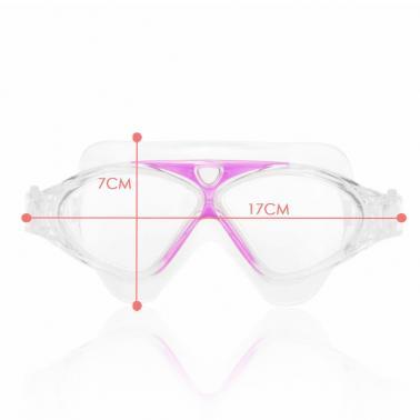 Adjustable Unisex Adult Non Fogging Anti-UV Large Swimming Goggles Swim Glasses