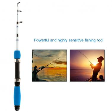 1.0M / 1.6M / 1.8M Superhard Ultralight Professional Carbon Telescopic Fishing Rods Powerful Casting Fishing Rod Highly