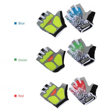 Sports Half Finger Gloves Racing Riding Road Bike Motor Cycling Bicycle Gloves