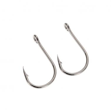 40pcs Strong Stainless Steel Sharpened Jigging Fish Hook Fishhook Jig Big Fishing Hooks Saltwater Bait holder Baitholder