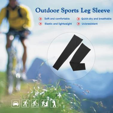 Outdoor Cycling Leg Sleeve Sports Knee Protector Brace Breathable Anti-UV Basketball Football Running Jogging Quick Dry