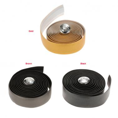 2pcs Bike Bicycle Anti-slip Handlebar Tapes Wraps with Two Bar Plugs