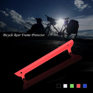 Bike Bicycle Frame Protector Chain Stay Guard Cover Pad Rear Frame Guard