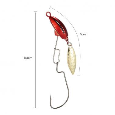 10g/14g Spinner Fishing Baits Fishing Lure Paillette Spangle Sequins Artificial Spoon Lures Bass Lures Copper   Sequin B