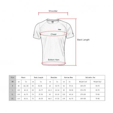 Quick-dry Running Sports Cycling T-shirts Shirts Summer