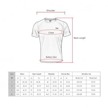 Quick-dry Running Sports Cycling T-shirts Shirts Summer