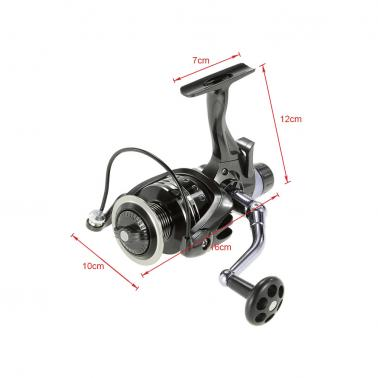 11+1BB Ball Bearings 4:7:1 Fishing Reel Left/Right Interchangeable Ultra Smooth Spinning Fishing Reel