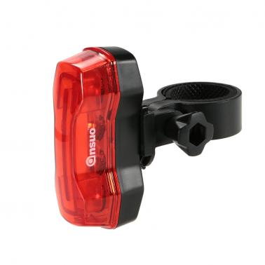 Outdoor Cycling Camping Bike Bicycle Beam 4 LEDs Rear Tail Light Safe Lamp