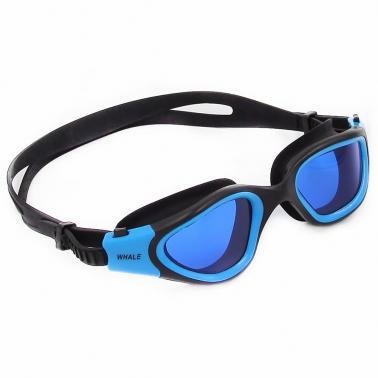 Adult Men's Women's Polarized Anti-fog UV-protection Mirrored Coating Swimwear Swimming Goggles Sports Swim Goggles Eyew