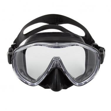 High-quality Men's Women's Anti-fog Diving Mask Snorkeling Mask Single Window Scuba Mask Swim Goggles Swimming Mask Temp