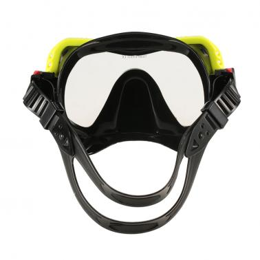 Men's Women's Anti-fog UV400 Protection Single Window Diving Mask Snorkeling Mask Scuba Swimming Mask Goggle Tempered Gl