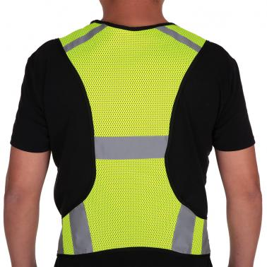 Lightweight Breathable Mesh Reflective Vest High Visibility Safety Vest Gear for Running Walking Cycling Jogging
