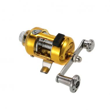Fishing Rod Reel Combo Set Mini Telescopic Portable Pocket Pen Fishing Rod Pole + Reel Aluminum Alloy Fishing Line Soft