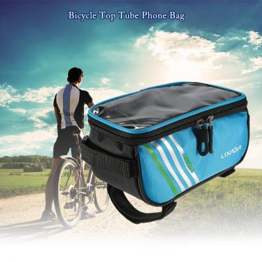 Lixada Cycling Front Tube Smartphone Bag