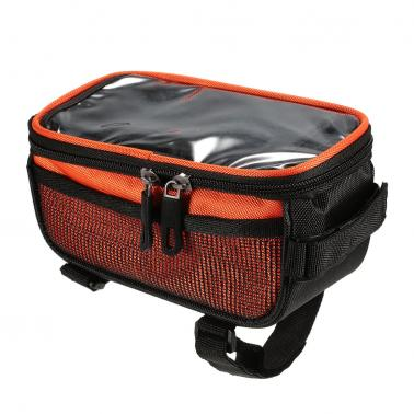 Lixada Cycling Front Tube Smartphone Bag
