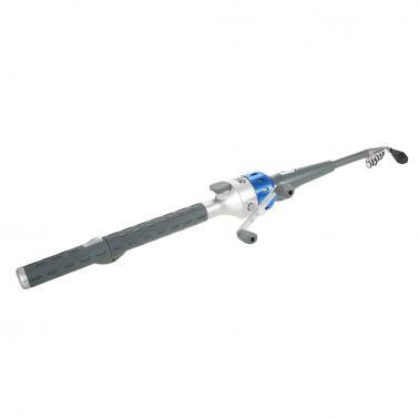 151cm Mini Folding Fishing Rod Foldable Telescopic Fighing Pole Fishing Rod Reel Combo with Fishing Lures Line Carp Fish