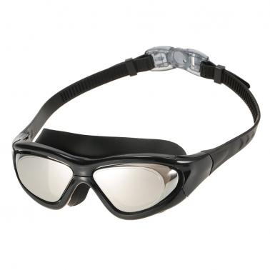 ​Unisex Adults Professional Glare-reducing Mirrored Coating Anti-Fog UV Protection Swimming Goggles Sports Eyewear Glass