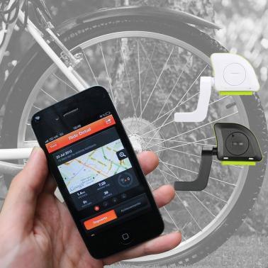 Wireless BT Fitness Tracker Bike Speed Cadence Combo Sensor Speedometer