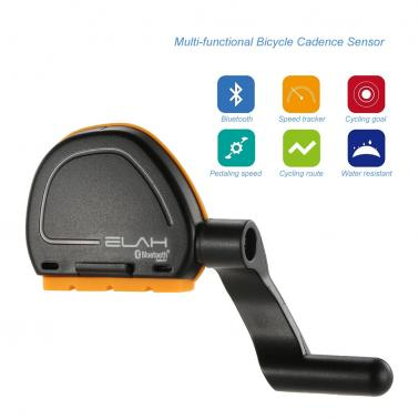 Bicycle Computer Bluetooth 4.0 Wireless Speed Cadence Sensor Smartphone APP for iPhone for Android