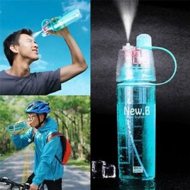 600ML Cycling Portable Leak Proof Cup Spray Bottle