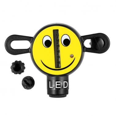 Ultra Bright 7 LED Bike Wheel Light Bicycle Spoke Light Smile Cycling Bike Signal Lamp Wheel Tire Spoke Light 30 Change