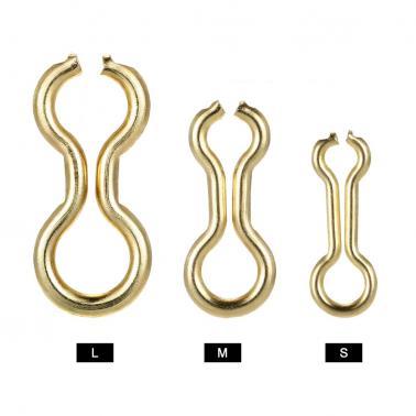 200PCS Brass Sinker Wire Eye for DO-IT Molds