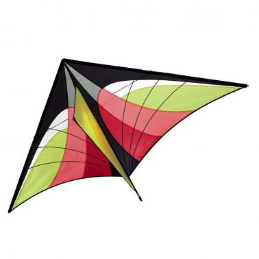 160 x 90cm / 63 x 35.5in Large Delta Kite Outdoor Sport Single Line Flying Kite with Tail for Kids Adults