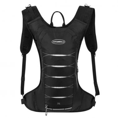 3 Liters Cycling Hydration Backpack Lightweight Water-resistant Daypack Bag for Outdoor Riding Hiking Running Camping