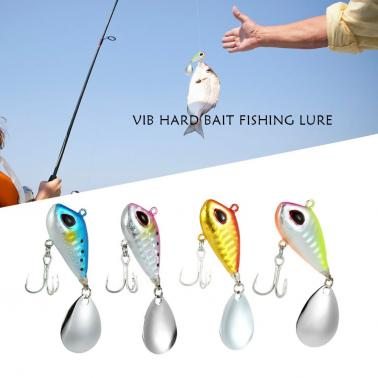 4cm / 25g Lifelike Fishing Lure Swimbait VIB Hard Bait Fish Treble Hook Tackle