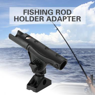 Power Lock Rod Holder Adjustable Boat Fishing Rod Racks Rod Holder Adapter